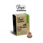 10 espresso capsulás Mélange Eden bio Lugat - Handpresso