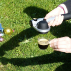 Cafetera portátil Handpresso Pump de color plateado - Handpresso
