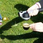 Handpresso Pump Silber, tragbare Espressomaschine– Handpresso