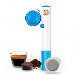 Handpresso Pump Pop blue manual espresso machine - Handpresso