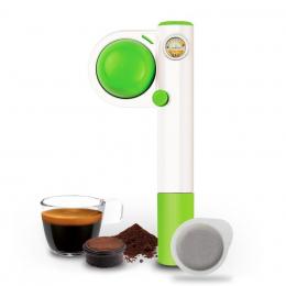 Handpresso Pump Pop Grün, tragbare Espressomaschine– Handpresso