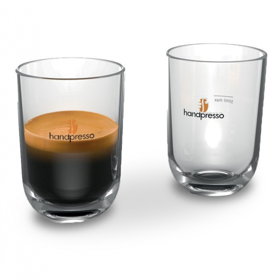 Set of 2 transparent Cups - Handpresso