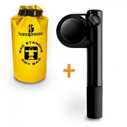Tragbare Espressomaschine Handpresso Pump + Schutzbeutel– Handpresso