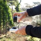 Termo con termómetro integrado blanco - Handpresso
