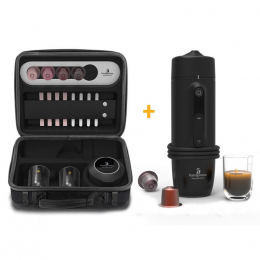 Handpresso Auto Set and premium case in-car espresso maker 12V