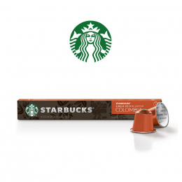 Starbucks Colombia 10 capsules