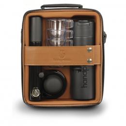 Espressoset Handpresso Pump Schwarz und braun– Handpresso