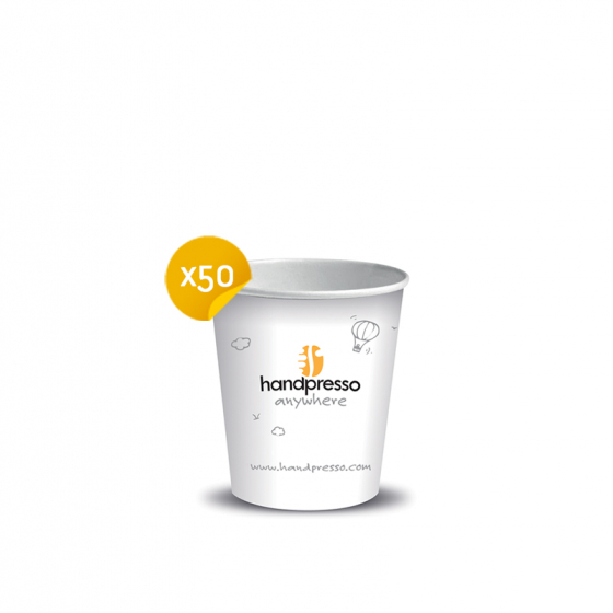 Petits gobelets en carton pour Handpresso Auto et Handpresso Pump - Handpresso