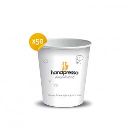 45Pappbecher für Handcoffee Auto– Handpresso