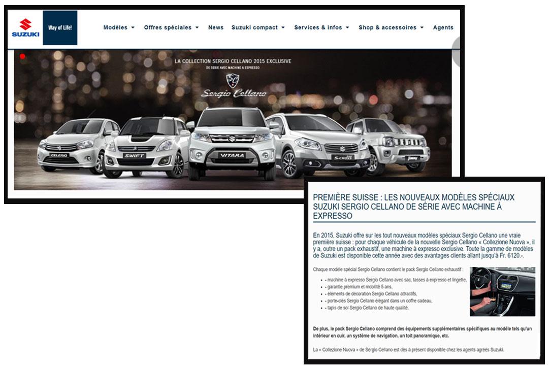 Suzuki partenariat