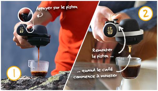 Handpresso PUMP silber 48256