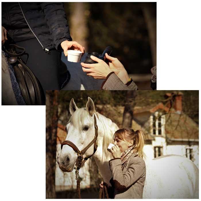 Café a caballo