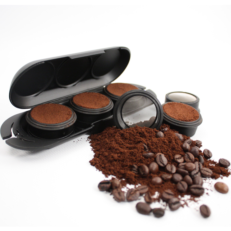 Ground coffee case