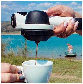 tragbar espressomaschine